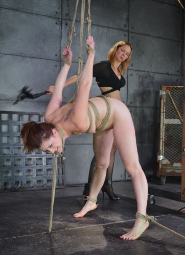 Cici Rhodes Gets Tied Up And DPed