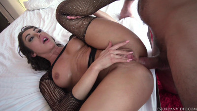 Sexy Brunette Christiana Cinn Gets Fucked in Every Hole