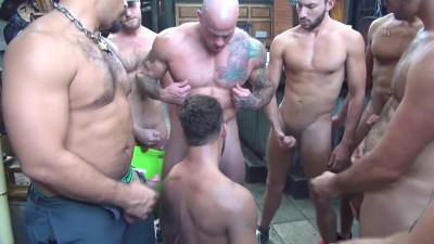 Logan Moore Gets Gang Banged - 720p