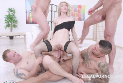 Description Double Anal Gangbang Festival With Sindy Rose