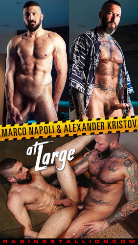 Raging Stallion - At Large - Alexander Kristov & Marco Napoli (1080p)