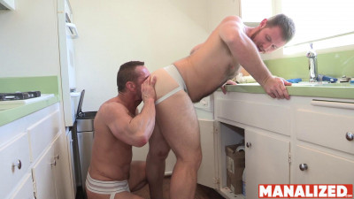 Dicking My Stepson – Myles Landon and Spencer Whitman