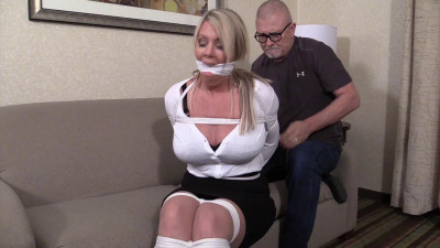 Jamie Knotts-This is what happens to snooping busty blond