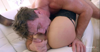 Bang Gonzo Sara Luvv In Lingerie Getting Ass Fucked And Cum On.