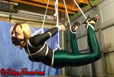 SBound — Nadia White.. Disco Girl Swiped and Suspended