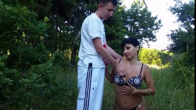 Description russian guy teaches milf