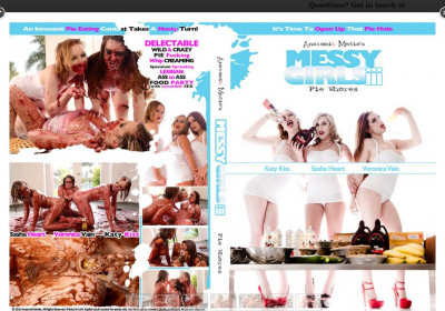 Messy Girls vol 3 Pie Whores