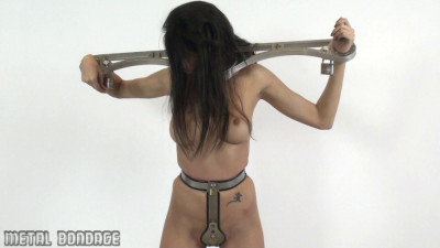 Yasmine – hardened steel chastity belt
