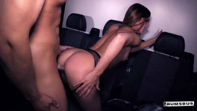 Description Slutty German babe picks up and fucks dude in the bus