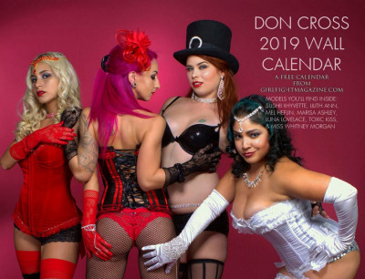 Don Cross 2019 Wall Calendar
