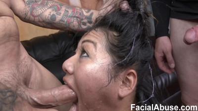 Description Reluctant Face Fuck