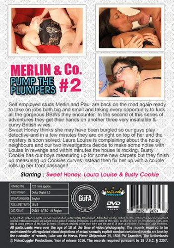 Merlin & Co Cross-examine The Plumpers vol 2