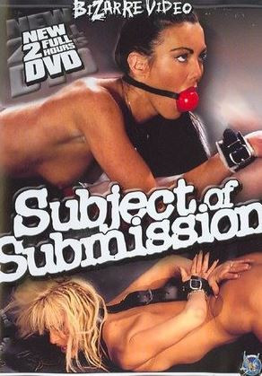Subject Of Submission