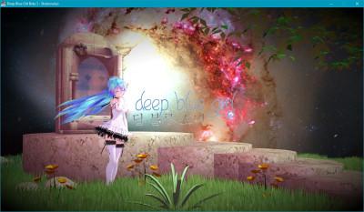 Deep Blue Girl
