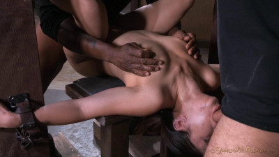 Tiny Asian Asia Zo In Her 1st Bondage Shoot Gets Sexuallybroken Epic Deepthroat & Squirting Orgasms