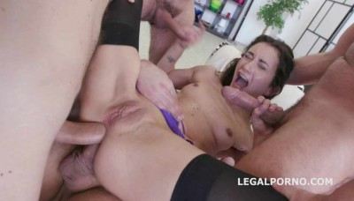 Monsters of DAP Valentina Bianco 4on1 No Pussy