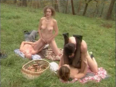 Group sex in the village