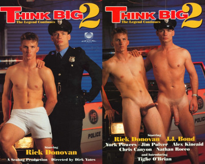 Think Big Vol. 2 (Classic Bareback) — Rick Donovan (Humongous) , Alex Kincaid, J.J. Bond 1989