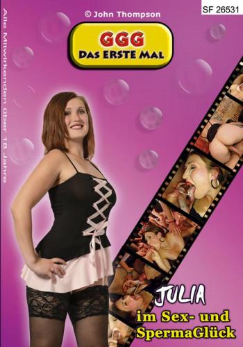 Das Erste Mal - Julia im Sex- und SpermaGlück