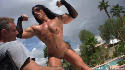 Female Muscle - Edging Challenge Series By FFF - Vol-025