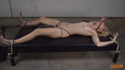 Description Spread Eagle and Orgasming Alone