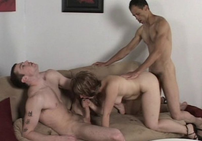 Bi Bareback Orgy - orgy, large, tit, pau
