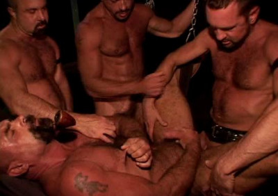 Description Favorite lube gangbang