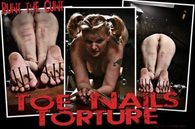 BM Runt – Toe Nails Torture