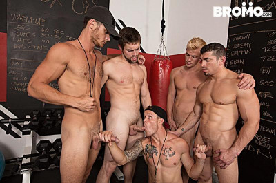 Shawn Reeve, Jeremy Spreadums, John Delta, Evan Marco and Griffin Barrows