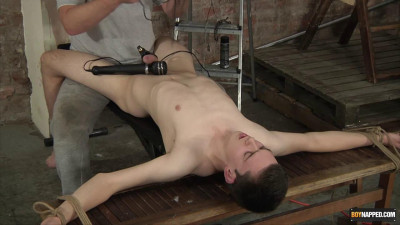 Description Vibrating The Cum From His Cock