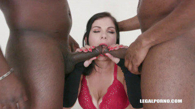 First black cock and first double anal for Janice United