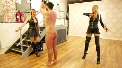Lady Dark Angel And Mistress Tess - Double Casual Whipping