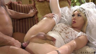 Trans Bride Aubrey Kate Banged By Dillon Diaz