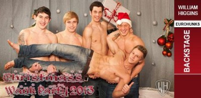 WH - Xmas Wank Party 2013 - Backstage