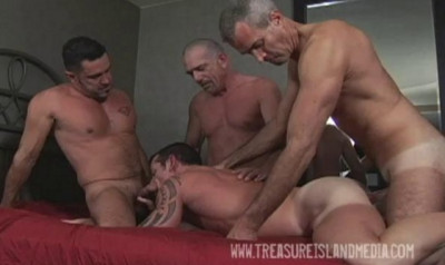 Mature men fuck young asses