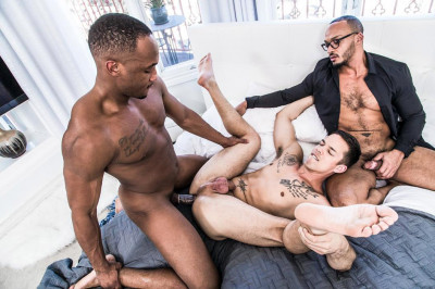 Hot 3some Trent King, Nic Sahara & Dillon Diaz (720p,1080p)