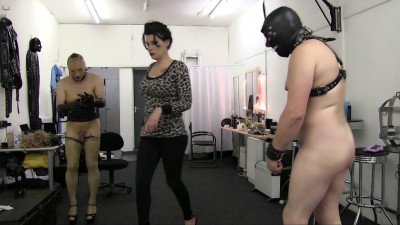 Miss Velour's Dungeon Slaves - Punishment Caning And Cleaning Full