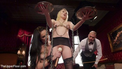 Exquisite Anal Whore & Butler Punish The New Meat