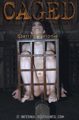 Felonie Caged - BDSM, Humiliation, Torture
