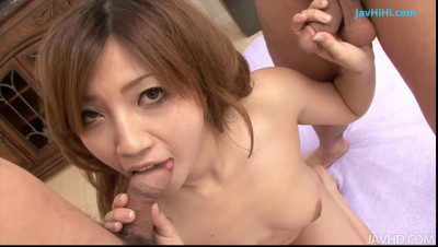 Gorgeous And Busty Babe Misaki Aiba Making Out
