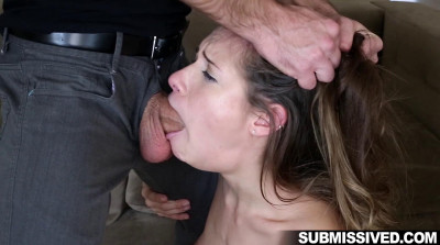 Little Slut Fucked Hard After Work – Cassidy Klein and Logan Pierce