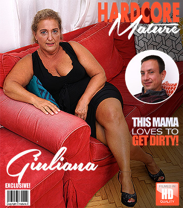 Giuliana - Chubby mature lady doing her toyboy FullHD 1080p