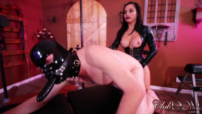 Strap On Training By Mistress Crystal Rush