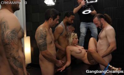 Description Gabi Gold Likes Sperm GangBang With Many Loads