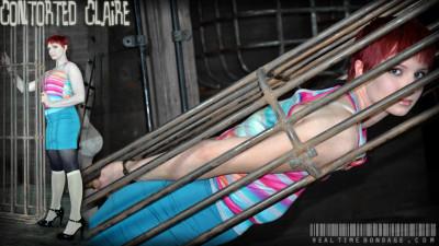 RealTimeBondage – Claire Adams – Contorted Claire Part 1