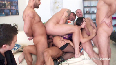 Insane Gangbang Party With Dap & Tap For Sexy Slut Mira Cuckold