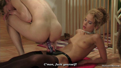 Emily and Felix Strong bond between a mistress and her - fuck, dildo, need, foot fetish