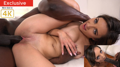 Young Jade Amber in Her First Interracial