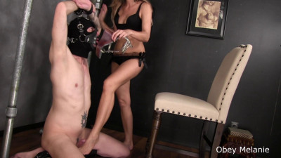 Obey Melanie handjob footjob ballbusting Part One (2015-2019)