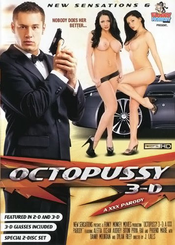 Description Octopussy 3D: A XXX Parody